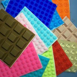 生产直销彩色硅胶脚垫自粘橡胶垫片防震硅橡胶杂件