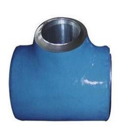 碳钢大口径对焊三通等径无缝三通厂家定制加工