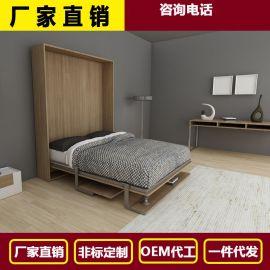 电动无腿桌台隐形床 折叠床1800*2000隐形床