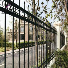 钢制锌钢护栏,围墙护栏铁篱笆,锌钢围栏栏杆厂家