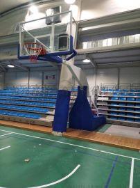 手动液压篮球架 晶康牌篮球架 折叠升降自如篮球架