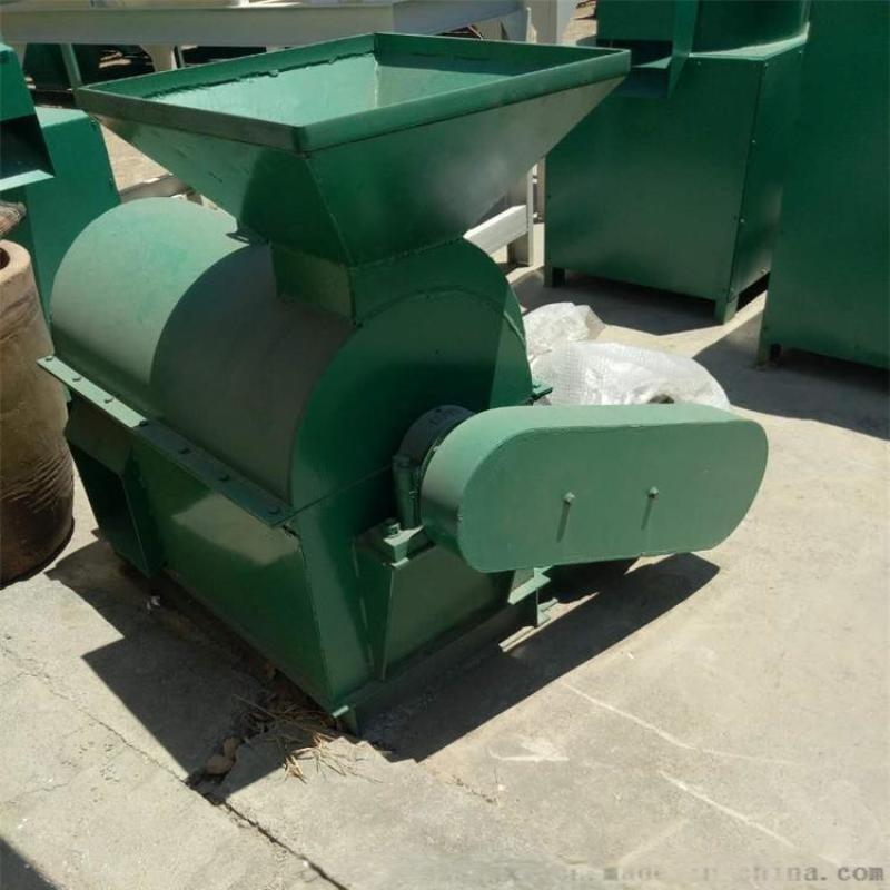 60型牛粪猪粪药渣破碎机糖渣药渣半湿物料粉碎机