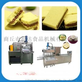 CCTV我爱发明专访全自动绿豆糕机成型设备