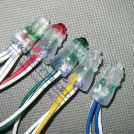 12V外露灯 9mm穿孔灯串 12V发光字灯串 12V灌胶穿孔灯串 蓝光
