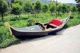 江南木船手工制作豪华贡多拉船欧式休闲木船