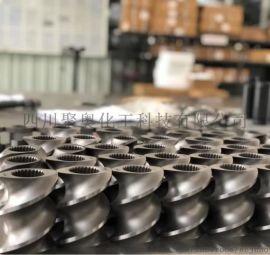 双螺杆高速工具钢材质螺纹元件