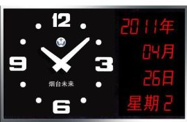 点阵式LED电子时钟(1)