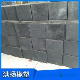 耐磨橡胶减震块 三角形橡胶缓冲块 方形减震橡胶块