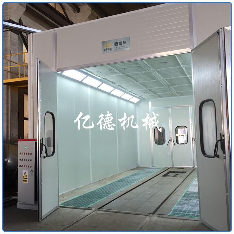 供应大型喷漆室 机械水旋式喷漆室喷烤漆设备