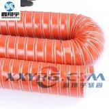 红色高温硫化硅胶管,耐高温软管,除湿干燥机通排风软管76