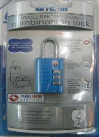 TSA箱包挂锁(SKG-514)