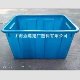 厂家直销 50L塑料周转箱 495*345*292  可套式塑料箱 塑料箱子