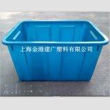 廠家直銷 50L塑料週轉箱 495*345*292  可套式塑料箱 塑料箱子