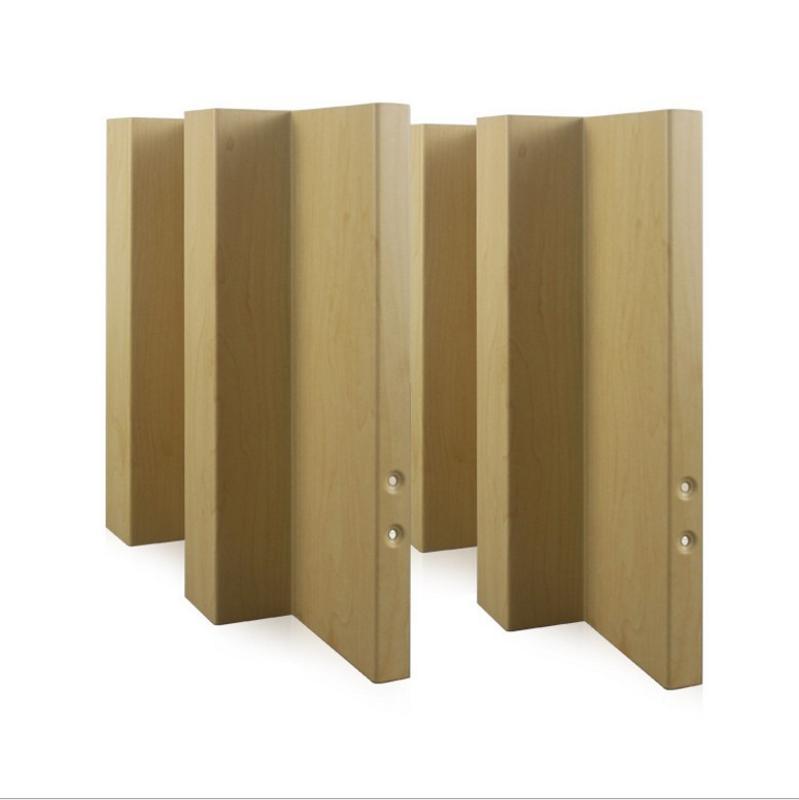 定制波浪铝长城板滚涂凹凸外墙铝长城板25*25mm
