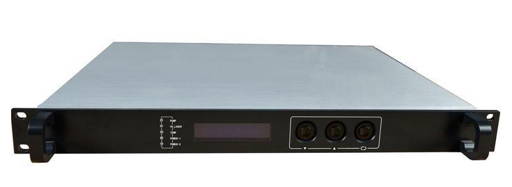 1550双路输出AGC光发射机 ,双模块1550nm直调式光发射机