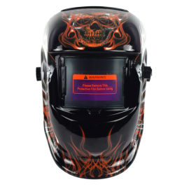 头戴式电焊面罩焊工防护面罩自动变光焊帽面罩