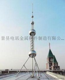 楼顶装饰塔,工艺避雷塔,装饰避雷塔