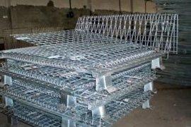 厂家直供金属周转箱  物料箱  仓储笼 仓库笼