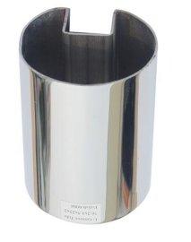不锈钢圆槽管,不锈钢单槽圆管