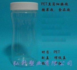 塑料瓶PET300ml直筒异形瓶