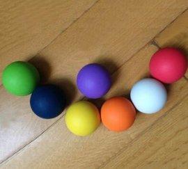 长曲棍球符合NOCSAE标准 Crossfit 按摩球 筋膜球 Lacrosse ball