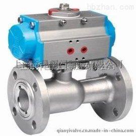 气动一体式高温球阀QJ641M/QJ641F