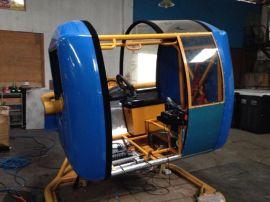 4D动感赛车模拟器游戏机