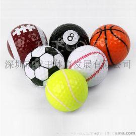 高爾夫球 運動球組 高爾夫模擬球 創意禮品