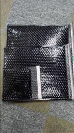 长期供应大量黑色镀铝箔膜复合气泡袋(厂家直销)
