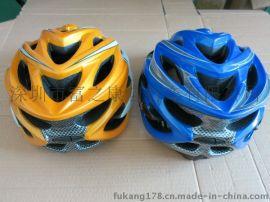 一体成型骑行头盔山地公路自行车头盔装备带盒装 特价**处理.