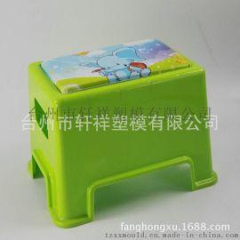 厂家直销 幼儿园专用用儿童防碰撞椅子 绿色加厚防滑塑料凳子