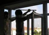番禺區幕牆玻璃開啓自動窗 大廈外牆玻璃開窗 玻璃幕牆更換