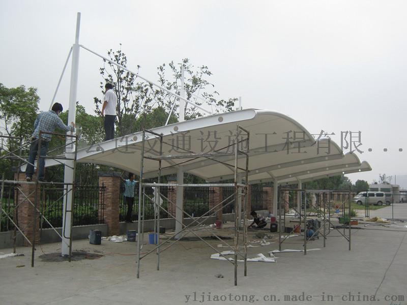 雲連交通供應東海EGBD-S-W-A2膜結構雨棚