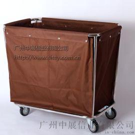 專業生產SITTY斯迪90.3202不鏽鋼斜柱布草車/服務車