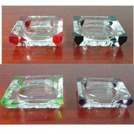 供应西安水晶烟灰缸水晶工艺品定做