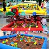 漯河市厂家定做儿童充气池子【充气沙滩池】