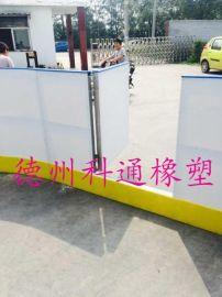 高分子聚乙烯塑料围板、PE护栏、冰场围板、拆装简单耐老化