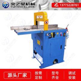 铝型材铝合金切割机半自动90度送料铝切机