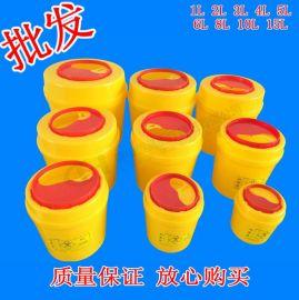 医用利器盒锐气盒1L2L3L4L5L6L黄色