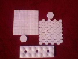 供应陶瓷衬片 氧化铝衬片 耐磨陶瓷衬片