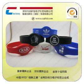 创新佳工厂专业定制硅胶手表带/ 手表扣腕带/156933腕带/14443A腕带