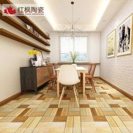 批发 800800仿古木纹砖地室内超白通体地板砖