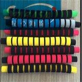 供应NBR橡塑管 运动器材手把套 双色发泡橡塑管