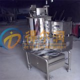 DR1自动化操作鱼饼成型机 不锈钢方形肉饼成型设备