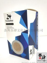 文具盒 碳水笔包装盒 白卡天窗盒