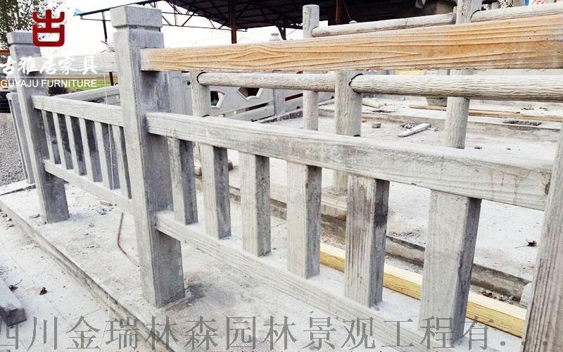 铜仁厂家定制泥塑,仿木纹、水泥栏杆,喷泉景观小件