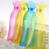 中号长条注水时尚PVC透明热水袋