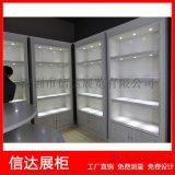 木质烤漆珠宝展览柜古玩陈列柜透明玻璃展柜