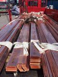 厂家供应 导电铜排 T2紫铜排 打孔铜排