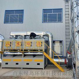 活性炭吸附催化燃烧设备全自动控制省人工